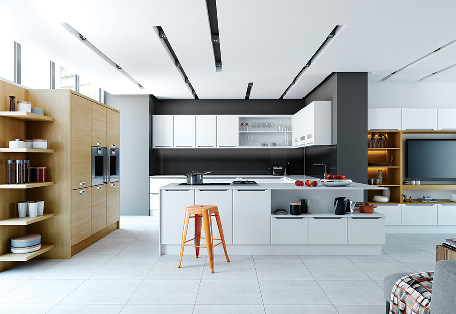 modern-contemporary-olympia-white-tavola-light-oak-kitchen-cabinets